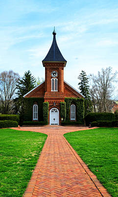 Photograph - Lee Chapel by Cathy Shiflett