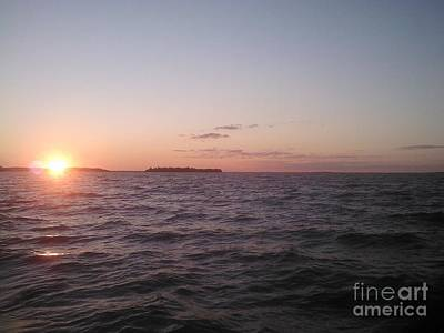 Photograph - Leech Lake Sunset by Jessi and James Gault