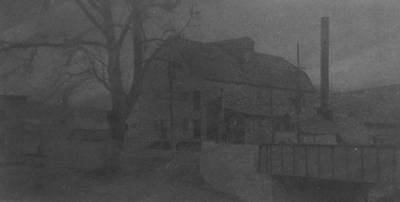 Rowing Royalty Free Images - Leech Mill at Arden B/W Royalty-Free Image by Joann Renner