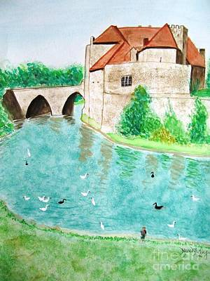 Painting - Leeds Castle  by Denise Railey