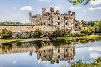 Photograph - Leeds Castle by Shirley Mangini