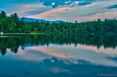 Photograph - Lees Mills With Ossipee Skies by Brenda Jacobs