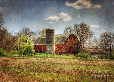 Lee's Old Barn Art Print by Pamela Baker