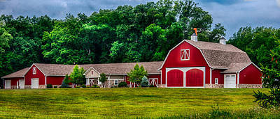 Photograph - Leesburg Rd Barn II by Gene Sherrill