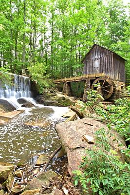 Photograph - Lefler Grist Mill by Gordon Elwell