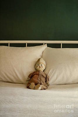 Doll Photograph - Left Behind by Edward Fielding