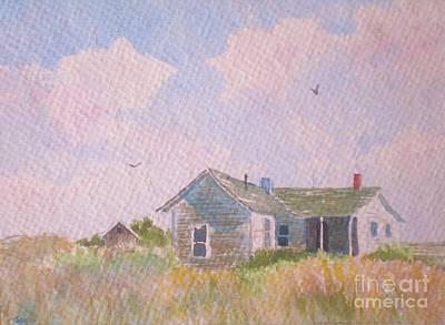 Painting - Left Behind In Pe El by Suzanne McKay