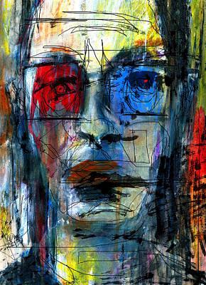 Mixed Media - Left Eye Right Eye by Jim Vance