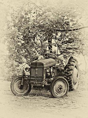 Antique Photograph - Left Fielder Antique by Steve Harrington