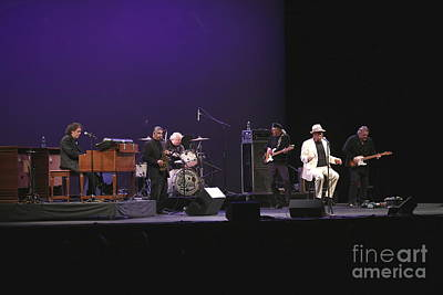 Lefty Photograph - Lefty Foster And The Shaboo All Stars by Concert Photos