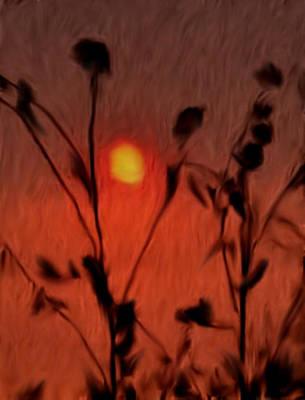 Painting - Left-handed Sundown by Dennis Buckman
