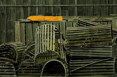 Photograph - Left On The Dock by Nadalyn Larsen