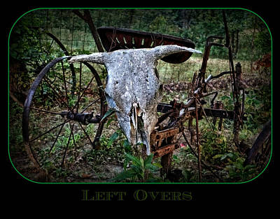 Photograph - Left Overs by Dale Paul