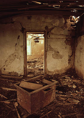 Abandoned Houses Photograph - Left To Shout  by Jerry Cordeiro