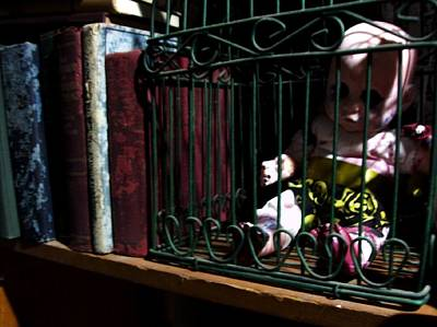 Lefty Photograph - Lefty In A Cage by STRega