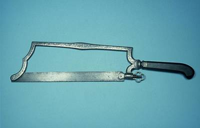 18th Century Photograph - Leg Amputation Saw by Science Photo Library