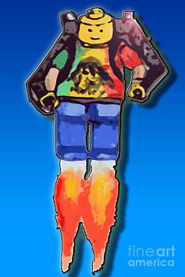 Leg Me Go Art Print by Monty Dean