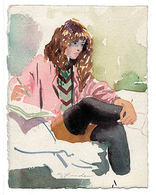 Leg Warmer Student Art Print