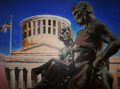 Capitol Building Painting - Legacy by Fred Paddock