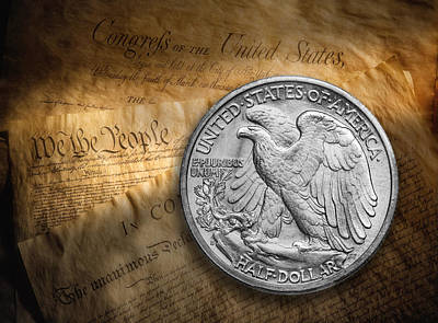 Coins Photograph - Legal Tender by Tom Mc Nemar