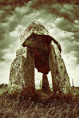 Photograph - Leganany Dolmen - Northern Ireland by Jane McIlroy