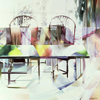 Ghostly Painting - Legato by Jeremy Annett