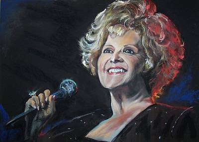Pastel - legend Brenda Lee by Peter Suhocke