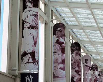 Joe Dimaggio World Series Photograph - Legends by Ann Addeo