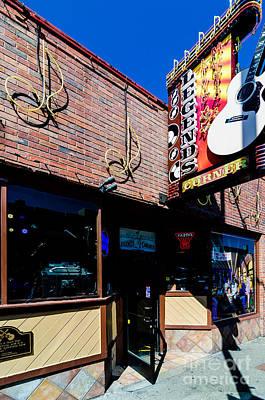 Photograph - Legends Corner Nashville by Danny Hooks