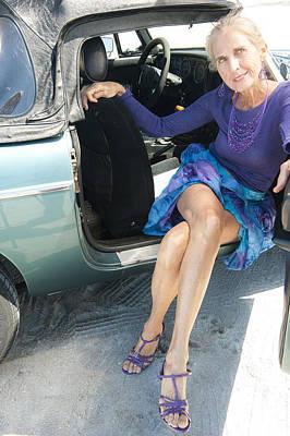 Photograph - Leggy Pose  by Nancy Taylor