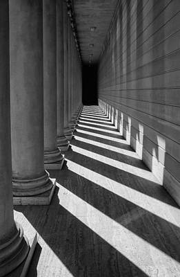 Photograph - Legion Breezeway by Robert Woodward