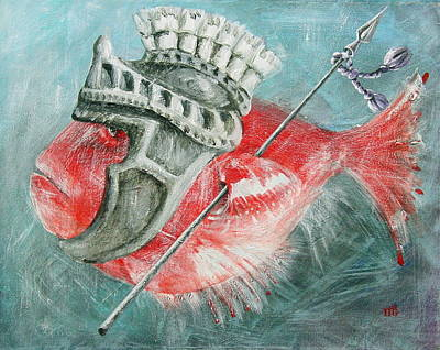 Legionnaire Fish Art Print by Marina Gnetetsky