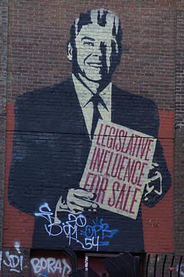 Legislative Influence For Sale Art Print by Lorenzo Williams