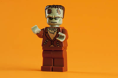 Royalty-Free and Rights-Managed Images - Lego Frankenstein by Samuel Whitton