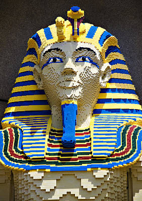 Photograph - Lego Pharoah by Ricky Barnard