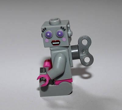 Lego Robot Art Print by Martin Newman