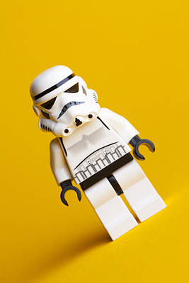 Lego Stormtrooper Art Print by Samuel Whitton