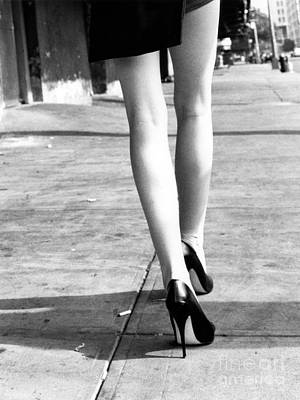 Photograph - Legs New York by Rebecca Harman