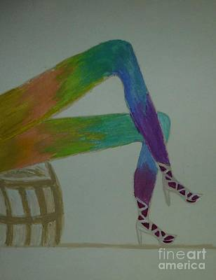 Painting - Legs Of A Different Color by Marie Bulger