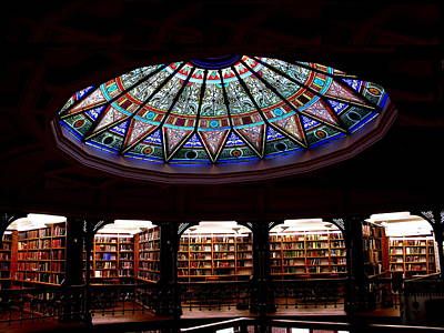 Photograph - Lehigh University Bethlehem Linderman Library by Jacqueline M Lewis