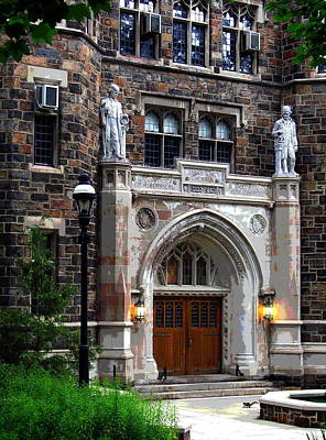 Lehigh University Bethlehem Packard Laboratory Art Print