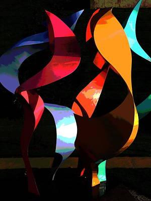 Photograph - Lehigh University Cerrulli Sculpture by Jacqueline M Lewis