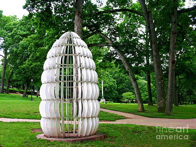 Photograph - Lehigh University Sculpture by Jacqueline M Lewis