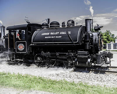Photograph - Lehigh Valley Coal Co. by Ronald Grogan
