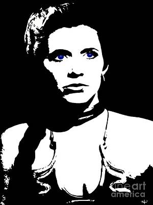 Painting - Leia She Is My Sister by Saundra Myles