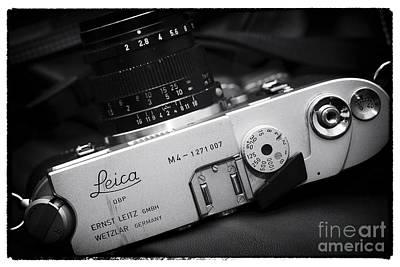 Photograph - Leica by John Rizzuto