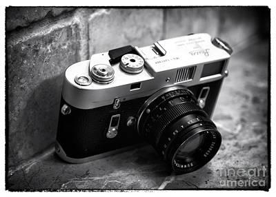 Photograph - Leica M4 by John Rizzuto