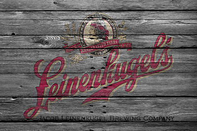 Handcrafted Photograph - Leinenkugels by Joe Hamilton
