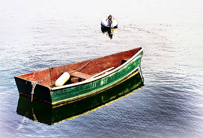 Fishing Boats Photograph - Leisure Time by Marcia Colelli