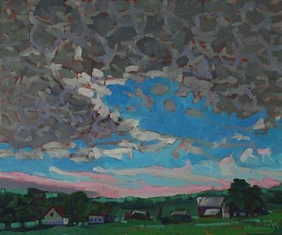 Plein Air Painting - Leith Sunrise by Phil Chadwick